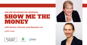 ONLINE, BWA Boardroom Seminar: Show Me the Money