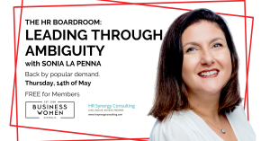 Online, BWA, The HR Boardroom: Leading Through Ambiguity @ ONLINE