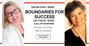 Online, BWA Early Birds: Boundaries for Success @ Online