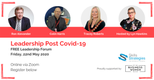 Leadership Post Covid-19 @ ONLINE VIA ZOOM