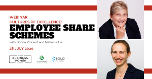 BWA Webinar, Cultures of Excellence: Employee Share Schemes @ ONLINE