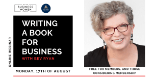 Online, Webinar: Writing a Book for Business @ ONLINE