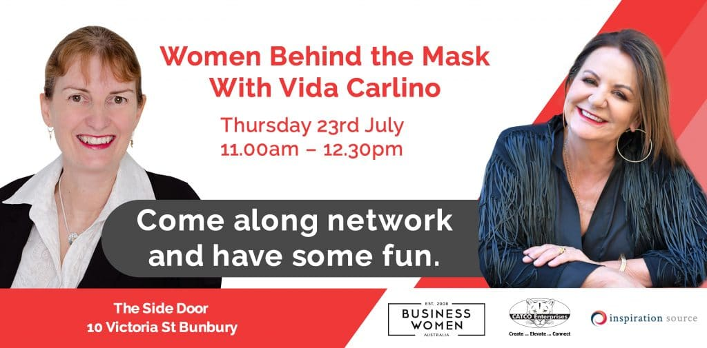 Women Behind The Mask with Vida Carlino