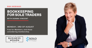 Online Webinar: Bookkeeping for Sole Traders @ ONLINE