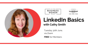 Online, LinkedIn Basics with Cathy Smith @ ONLINE