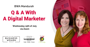 Online, Mandurah Chapter Brainstorm & Q&A with a Digital Marketer @ ONLINE