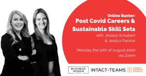 Online Banter: Post Covid Careers & Sustainable Skill Sets @ ONLINE