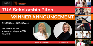 Online, TUA Scholarship Pitch Winner Announcement @ ONLINE