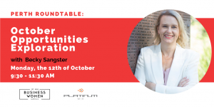 Perth Roundtable: October Opportunities Exploration @ Platinum Mix
