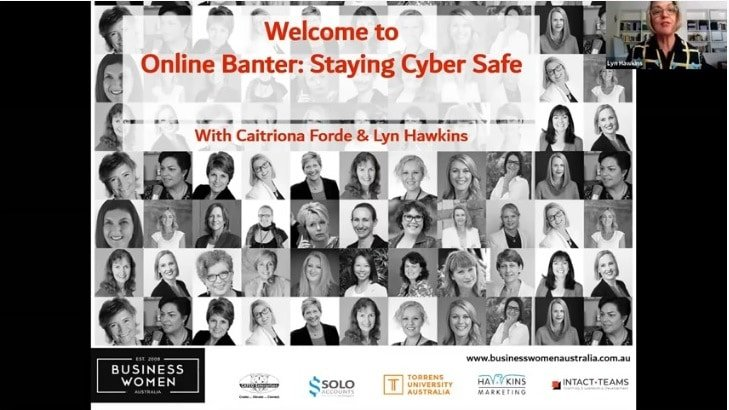 Staying Cyber Safe With Caitriona Forde & Lyn Hawkins