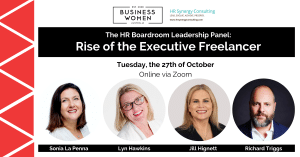 Online, The HR Boardroom Panel: Rise of the Executive Freelancer @ ONLINE