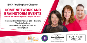 Rockingham: Networking & Brainstorming Events @ The Lab Factory