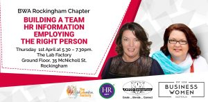 Rockingham, Business Women Australia: How Can HR Influence Building a Team? @ The Lab Factory