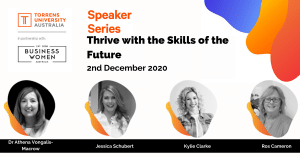 Speaker Series 2020, BWA & TUA: Thrive with the skills of the future @ ONLINE