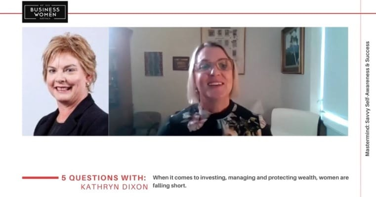 5 Question Series Financial Wellbeing with Kathryn Dixon