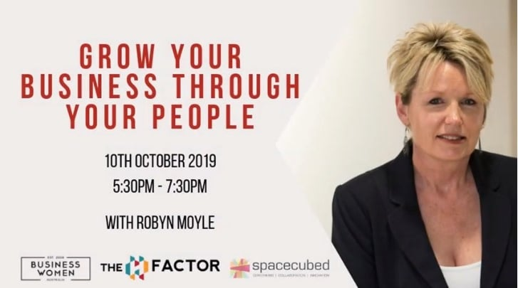 Grow Your Business Through Your People with Robyn Moyle