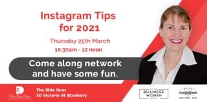 Bunbury, BWA: Instagram Tips for 2021 @ The Side Door