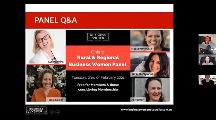 Rural And Regional Business Women Panel