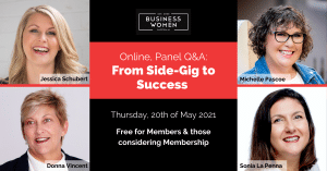 BWA, Online Panel Q&A: From Side-Gig to Success @ ONLINE
