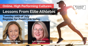Online, High Performing Cultures: Lessons from Elite Athletes @ ONLINE