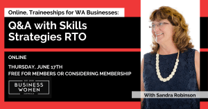 Online, Traineeships for WA Businesses: Q&A with Skills Strategies RTO @ ONLINE