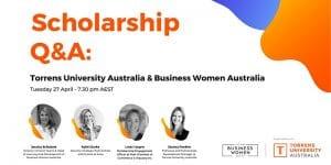 Online: BWA/TUA Scholarship Q&A @ Online Event
