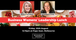 Melbourne, BWA: Business Women's Leadership Lunch @ Pope Joan
