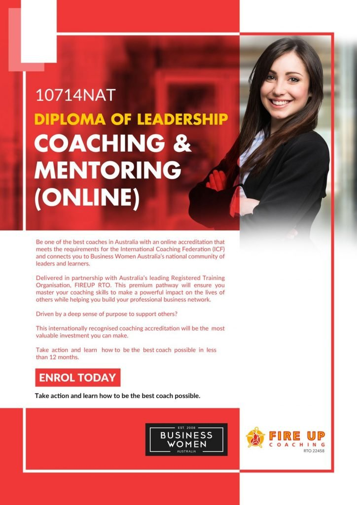BWA Coaching Accreditation 10714NAT -Diploma Brochure Cover