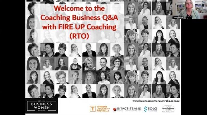 Coaching Business Q&A with FIRE UP Coaching (RTO)
