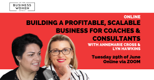 Online: Building a Profitable, Scalable Business for Coaches & Consultants @ ONLINE