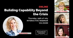 Online, BWA: Building Capability Beyond the Crisis @ ONLINE