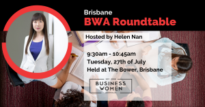 Brisbane, BWA: Roundtable @ The Bower