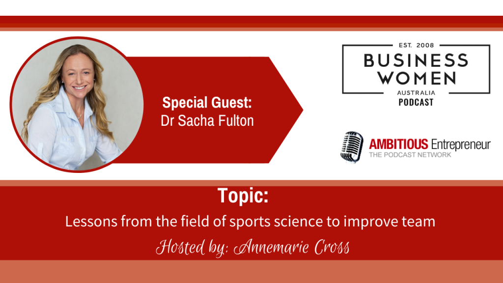 Lessons from the field of sports science to improve team