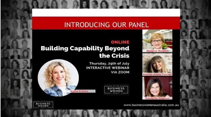 Building Capability Beyond the Crisis