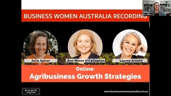 Business Women Australia - AgriBusiness Growth Strategies