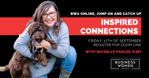 Online, Jump On & Catch Up with BWA: Inspired Connection @ ONLINE