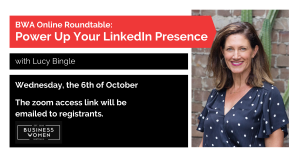 BWA Online Roundtable: Power Up Your LinkedIn Presence @ ONLINE