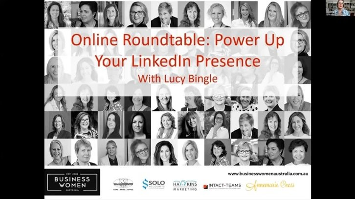 Power Up Your Linkedin Presence with Lucy Bingle